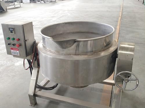 800带有保温层可倾夹层锅